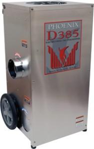 Phoenix D385 Portable Desiccant Dehumidifier