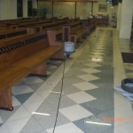 Flooding Restoration in a Church