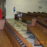 Flooding Restoration in a Church