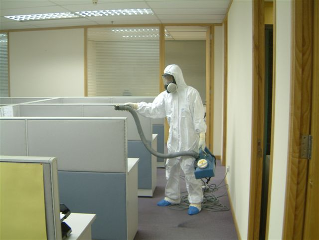 Bio Decontamination During SARS in Singapore