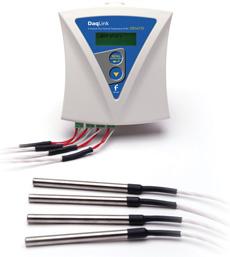 DaqLink 4-channel multi-probe standalone data logger