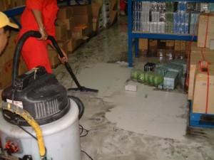 Disaster Restoration in Progress