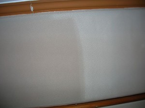 Cleaning of Fabric Wall Panels in an Auditorium
