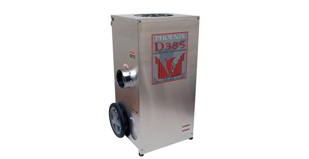 Portable Dessicant Dehumidifier D385