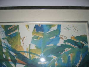 Micro Organism on Picture Frame